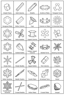 Guide to Snowflakes - SnowCrystals com